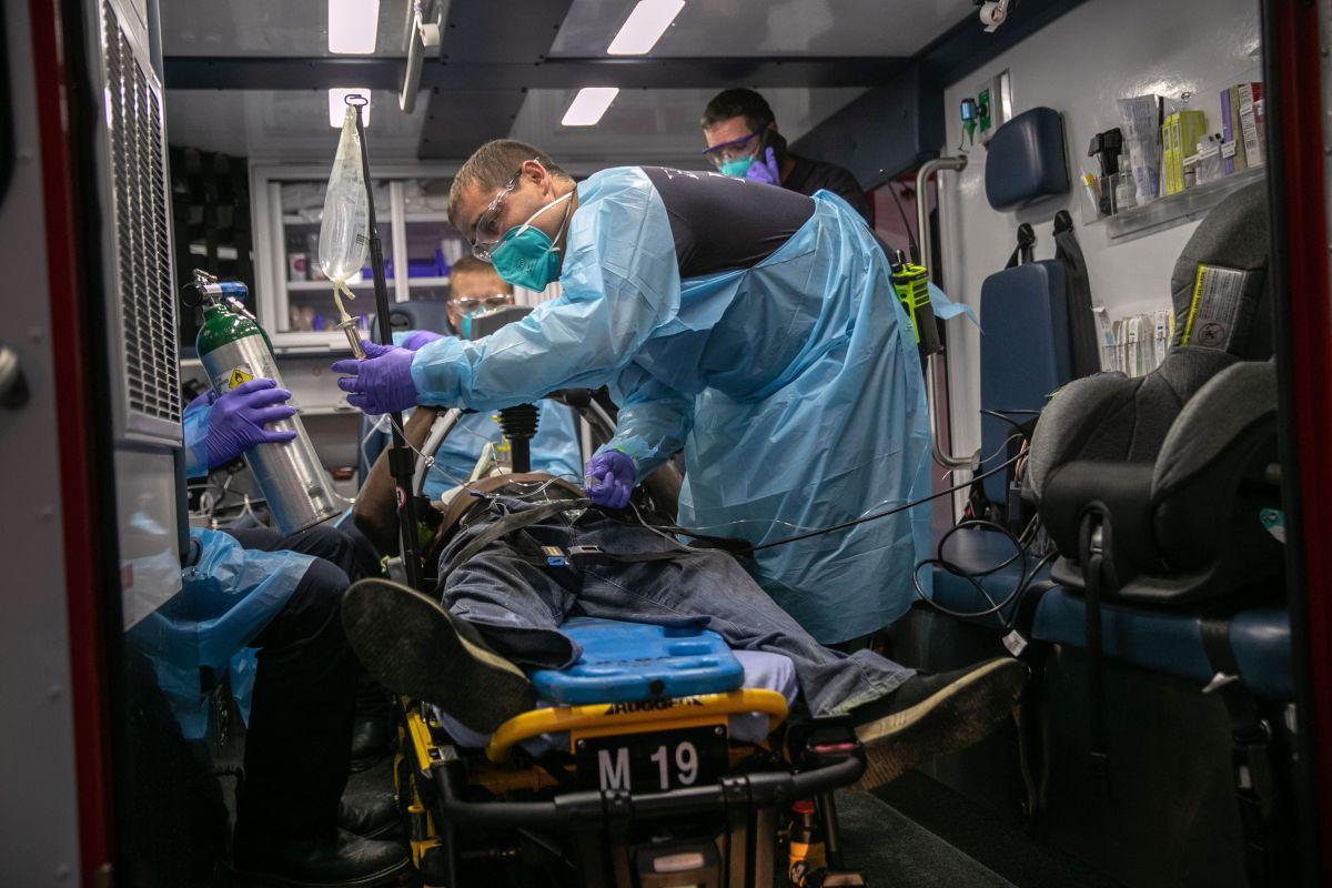 EE.UU. es el país más impactado por la pandemia de coronavirus con casi seis millones de contagios.