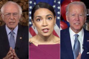 La confusión que desató Alexandria Ocasio-Cortez al apoyar a Bernie Sanders y no a Joe Biden