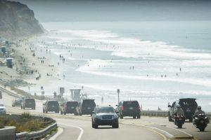 1,800 galones de aguas negras derramadas cierran playa de San Diego
