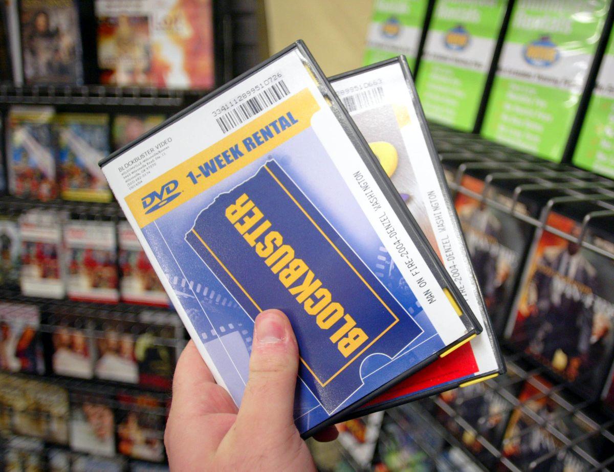 Blockbuster fue la mayor cadena de renta de videos del mundo.