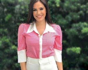 Karla Martínez libre de coronavirus