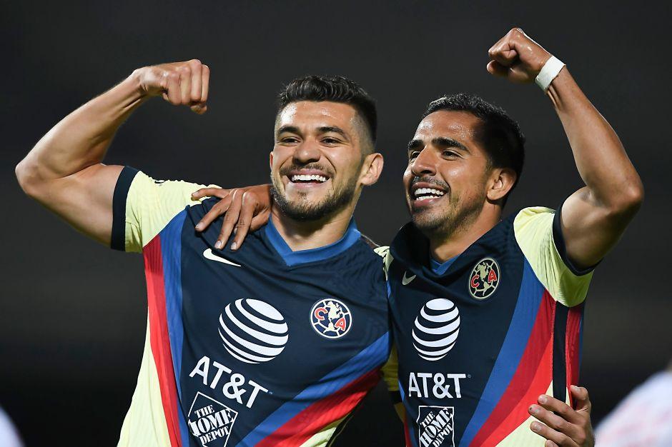 América golea a Tijuana y toma el liderato de la Liga MX
