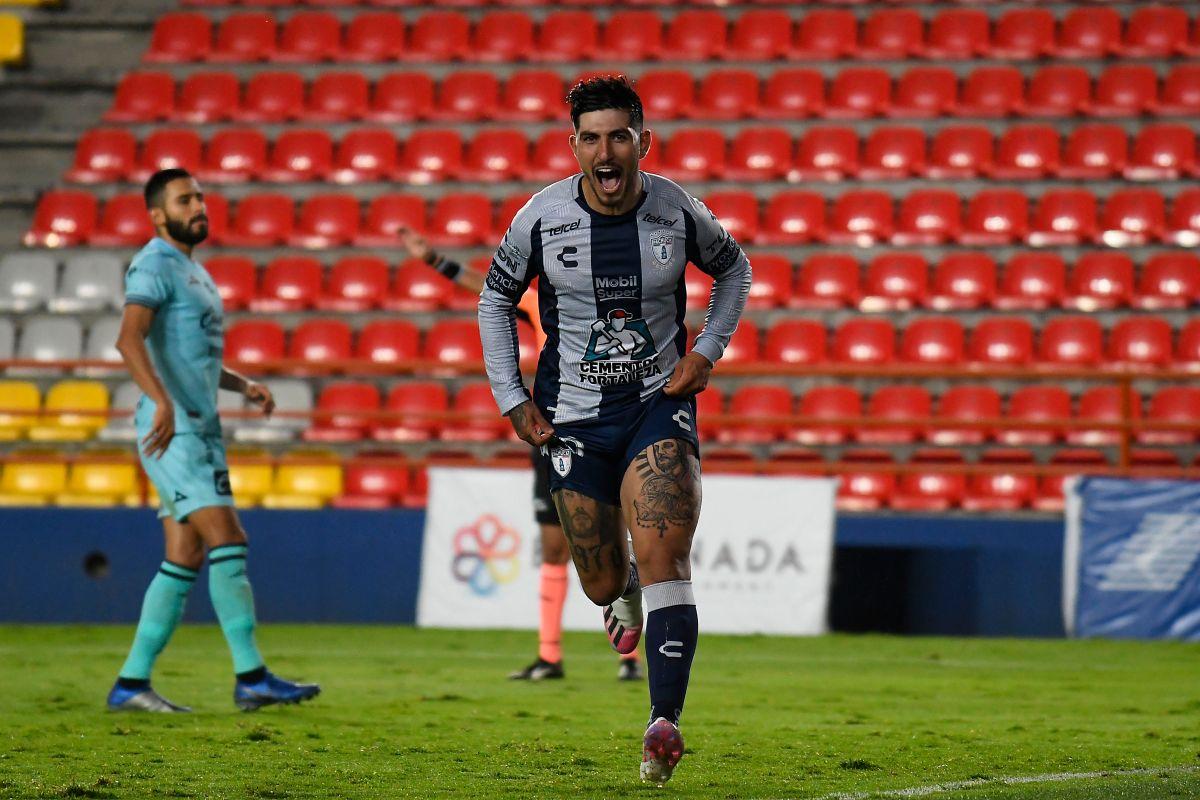 Guzmán tenía ocho meses sin jugar.