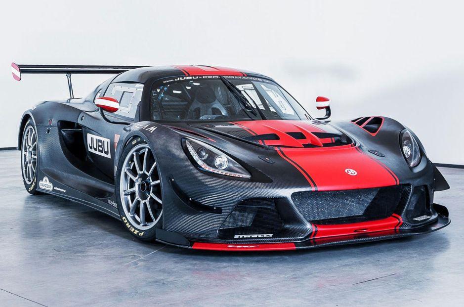 JP Zero, un Lotus modificado para la competición