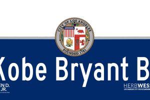 Calle de Los Ángeles se llamará Kobe Bryant