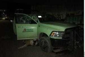 Captan en video balacera en que trabajadores de Pemex son asesinados por huachicoleros
