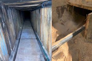 VIDEO: Así es el narcotúnel más sofisticado de la historia encontrado en Arizona