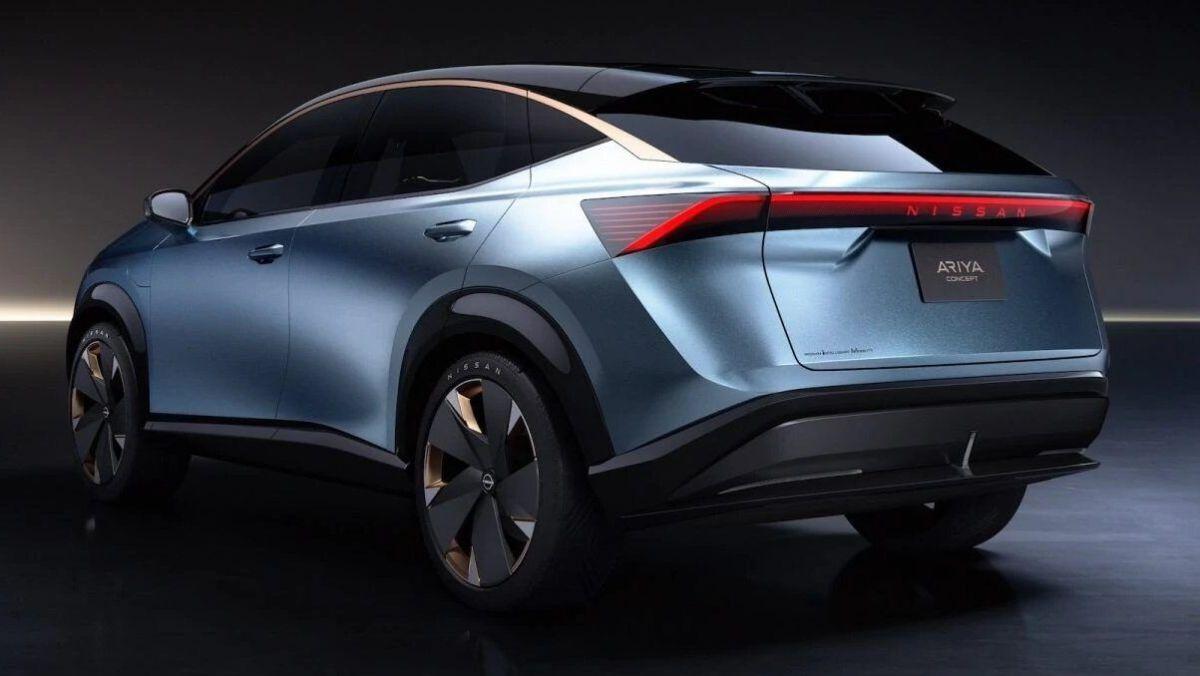 Nissan Ariya.  Crédito: Cortesía Nissan.