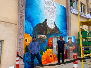 Crean mural en memoria de Vanessa Guillén en Este de Los Ángeles
