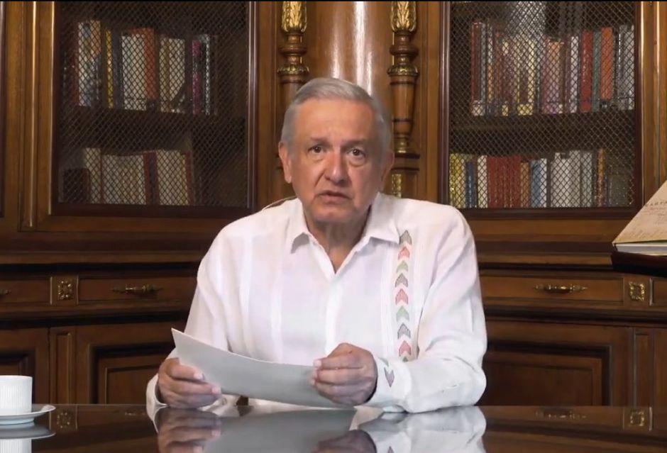 """""""Parte el alma más de 50,000 muertos por Covid"""", dice AMLO tras afirmar que casos disminuyen en México"""