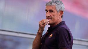Quique Setién es despedido del Barcelona