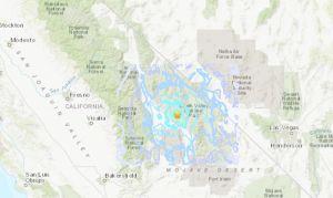 Reportan un sismo de 4.8 grados en el Valle de la Muerte