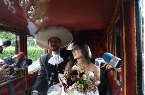 Camila Fernández cumple un mes de casada y lo celebra con este romántico mensaje en redes