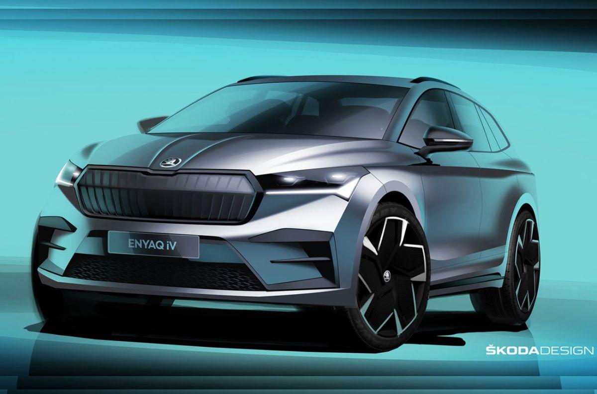 Enyaq iV: el primer SUV eléctrico de Skoda muestra su exterior