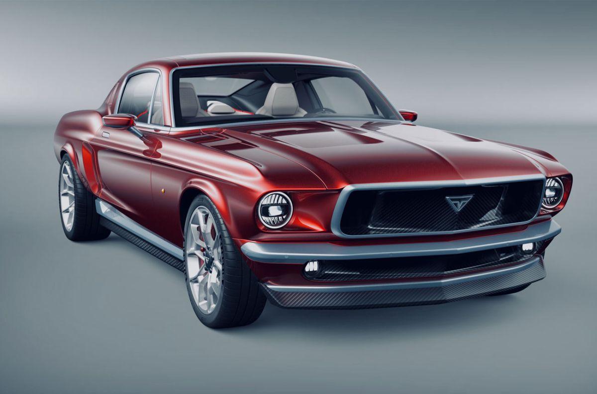 Aviar R67: fusión entre un Mustang y un Tesla