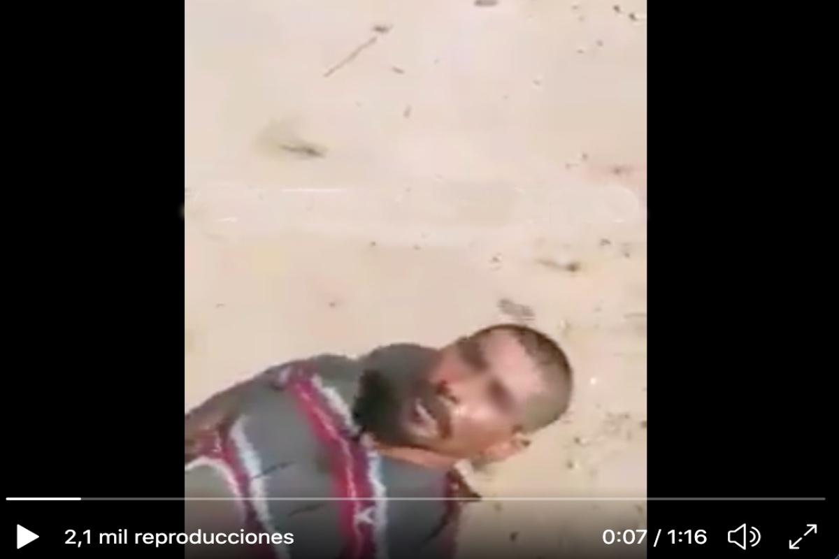 """VIDEO: """"Ando robando para la cura de mi madre"""", decía supuesto ladrón al pegarle con bate"""