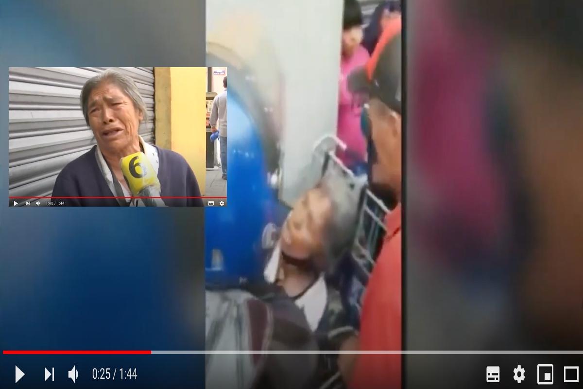 VIDEO: Abuelita vendedora de hierbas narra abuso de policías que le quitaron su mercancía