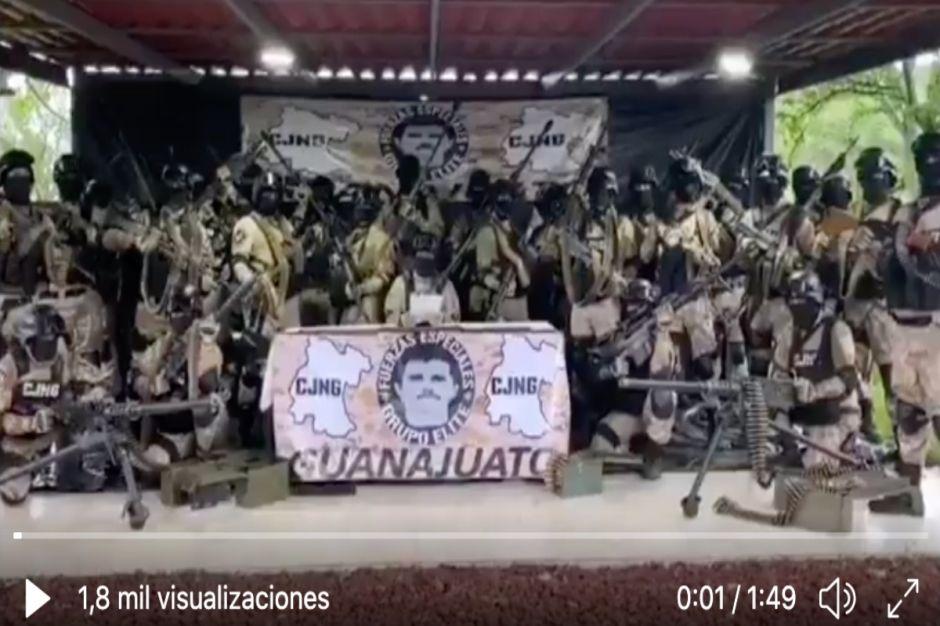 VIDEO: CJNG agradece a Gobierno mexicano captura del Marro, líder huachicolero