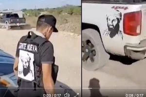 VIDEO: Gente Nueva del Cártel de Sinaloa porta ropa con rostro del terrorista Osama Bin Laden