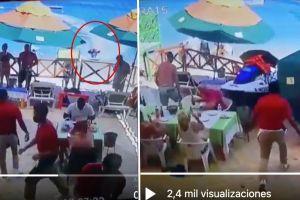 VIDEO: Con moto acuática, turista estadounidense mata a mexicano que vendía artesanías