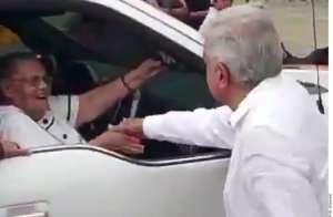 AMLO responde a expresidente Calderón sobre saludo a la mamá del Chapo