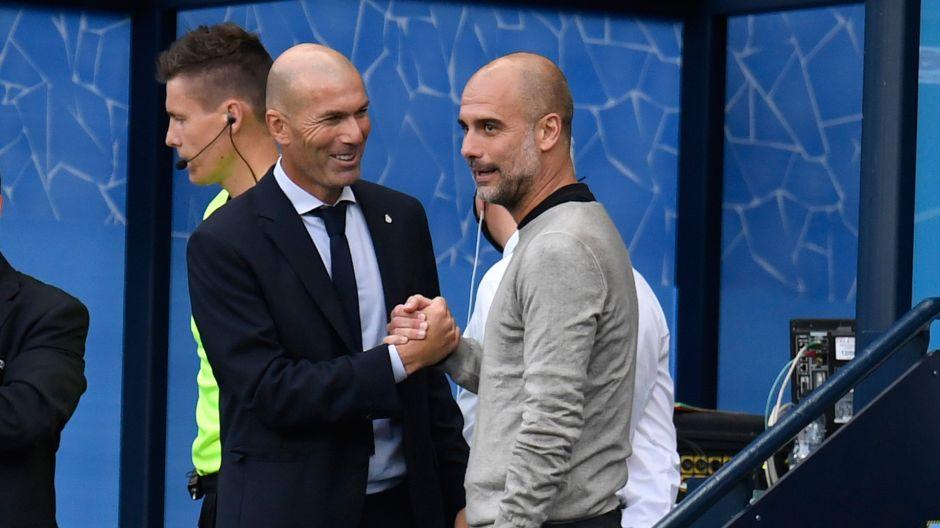 Video de Zidane y Guardiola da la vuelta al mundo, ¿qué se habrán dicho?