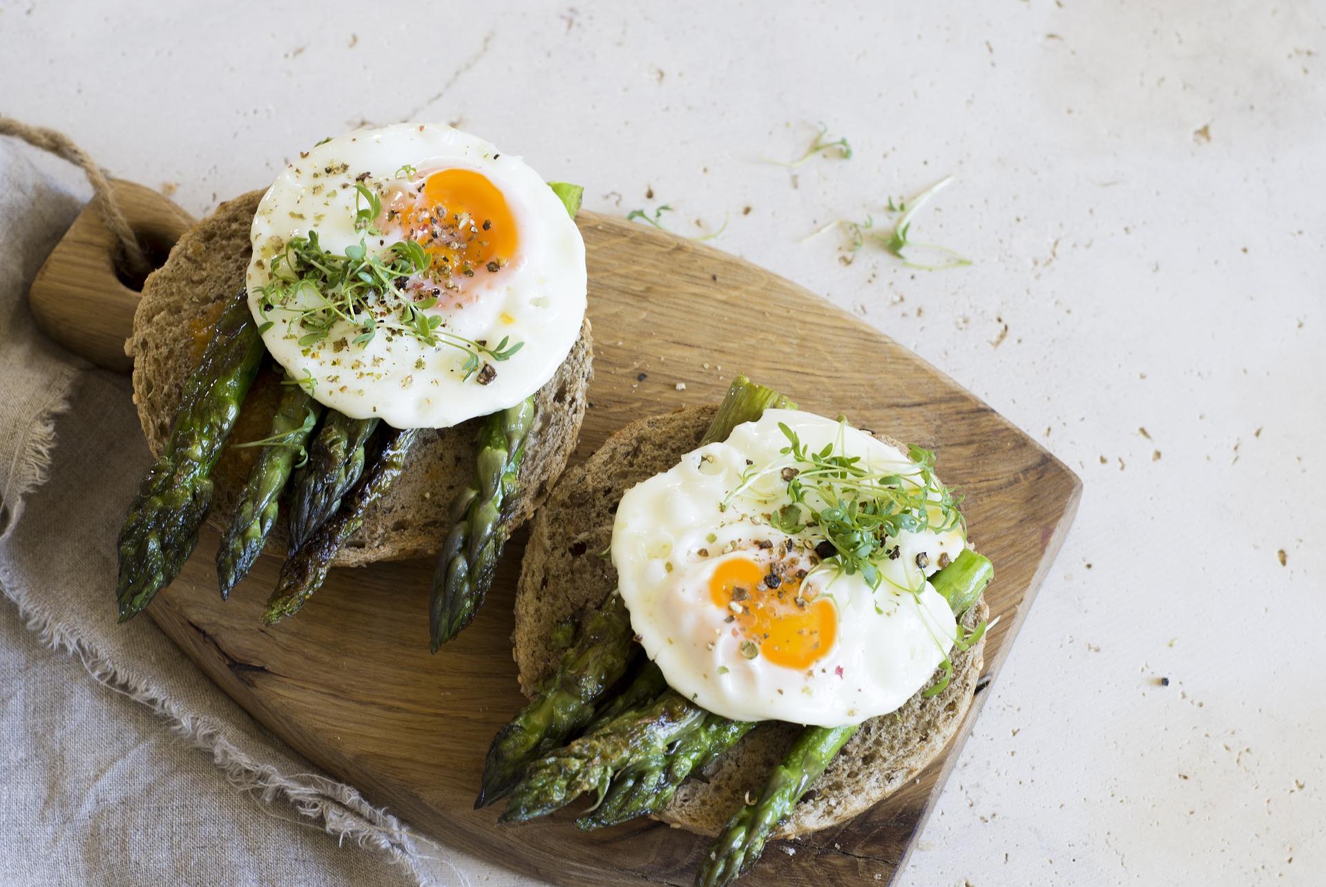 Desayuno con huevo.