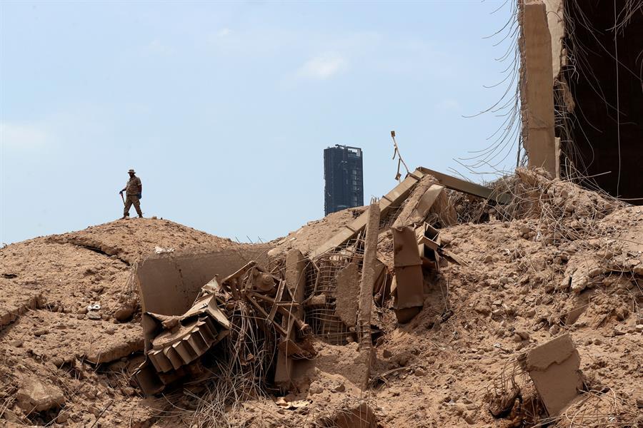 """""""Todo está destruido"""", dice mexicano que sobrevive a explosiones en Beirut"""