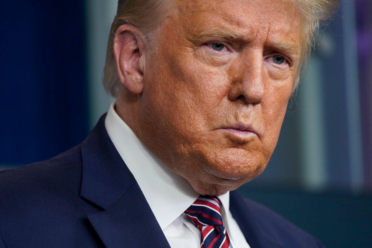 Trump ha perdido respaldo de las mujeres blancas, según las encuestas.