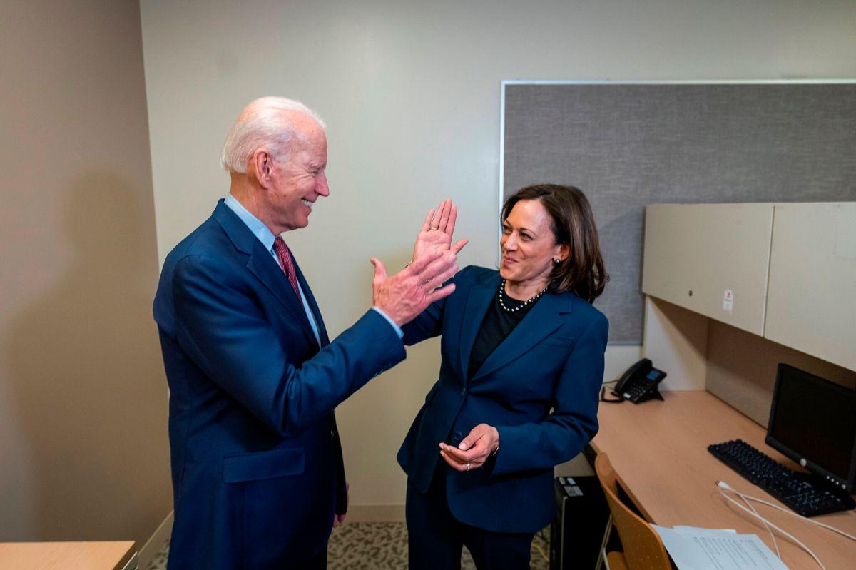Harris estuvo en la lista de Biden desde el principio.