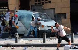 Explosión en Beirut: Estalla la protesta contra el gobierno por su mala gestión del desastre
