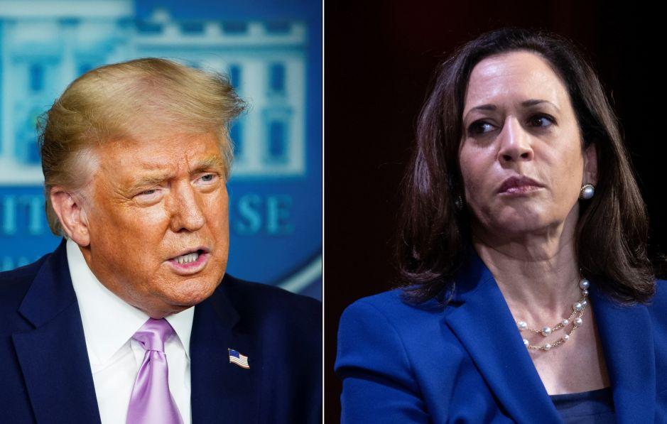 Trump critica a Harris después de que Biden anunciara que sería su candidata a la vicepresidencia