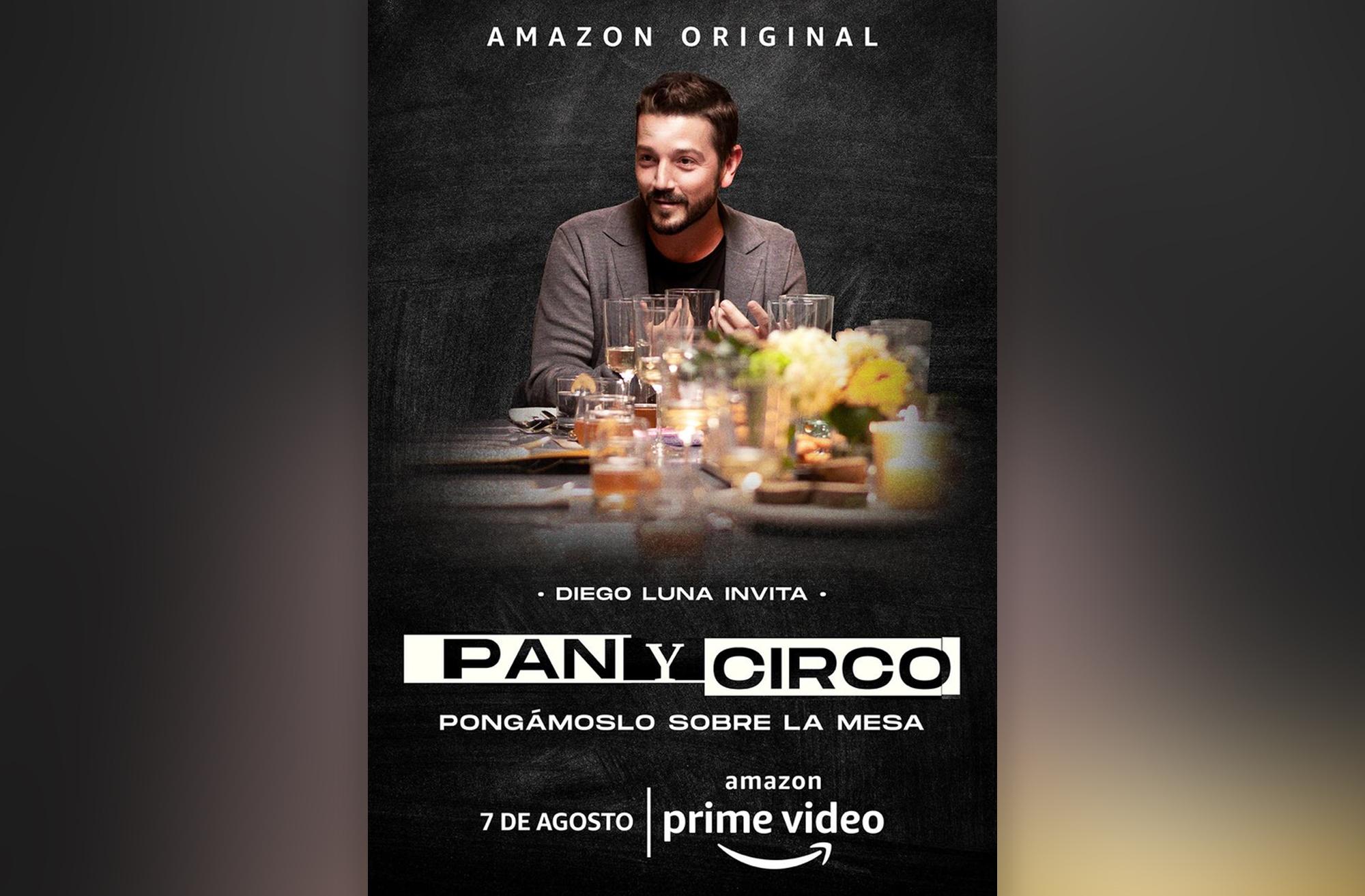 Diego Luna en 'Pan y Circo' de Amazon Prime Video.