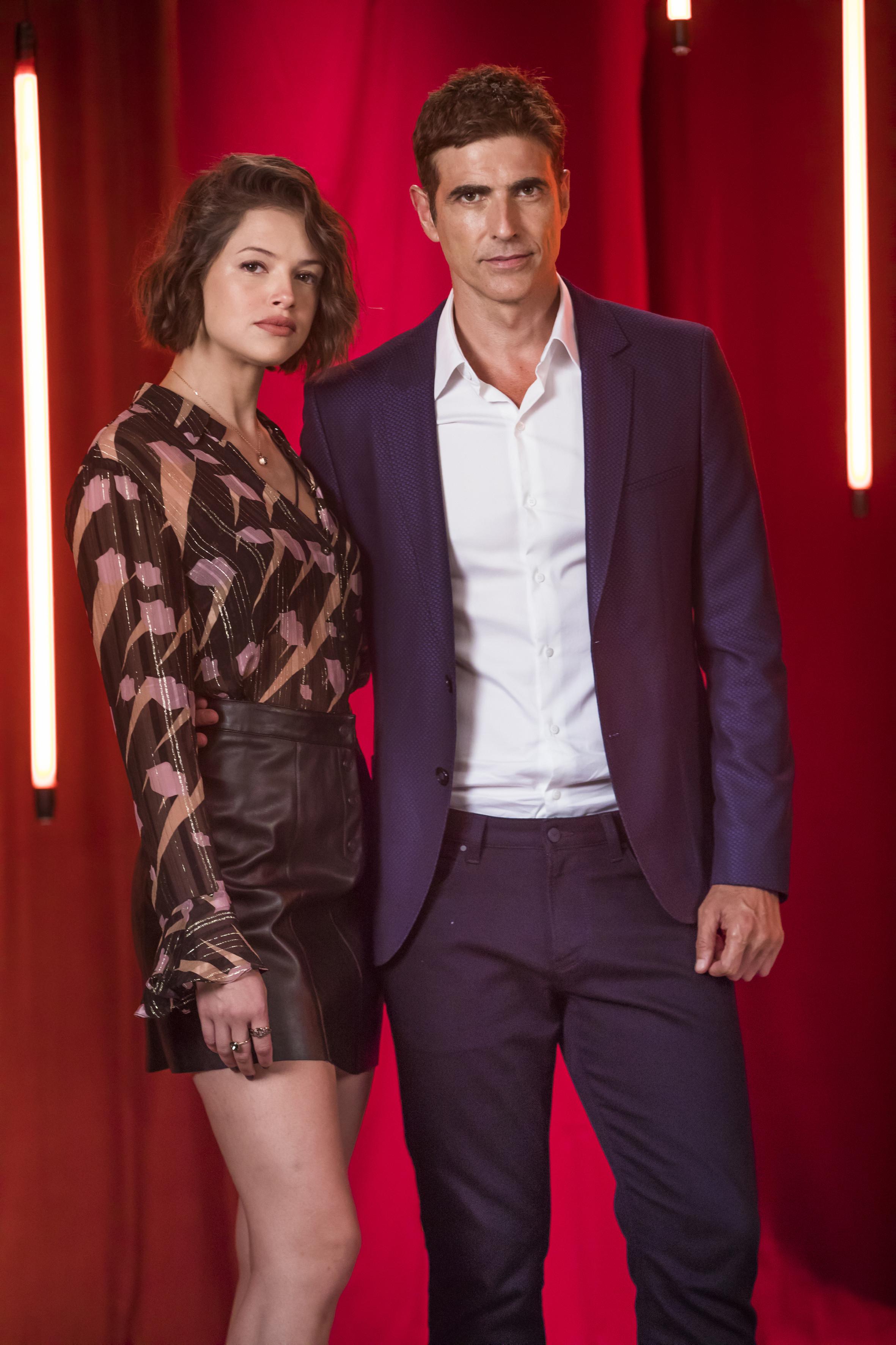 Reynaldo Gianecchini y Agatha Moreira en 'Dulce Ambición'.