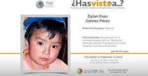 Localizan a Dylan de 2 años en Chiapas, México, luego de 44 días desaparecido