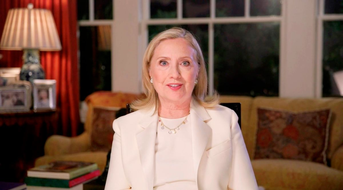 Clinton habló en la tercera noche de la Convención Nacional Demócrata.