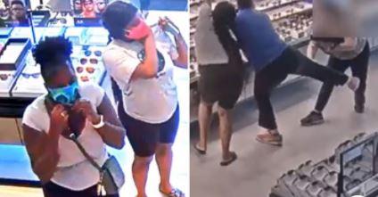 El incidente ocurrió en First Colony Mall.