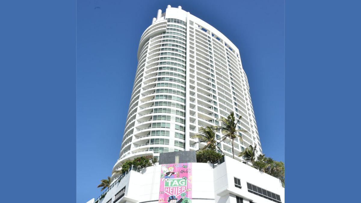 Exterior del hotel Fontainebleau de Miami Beach.