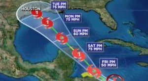 Una de las tormentas en el Golfo podría impactar a Texas la próxima semana y Houston estaría en su ruta