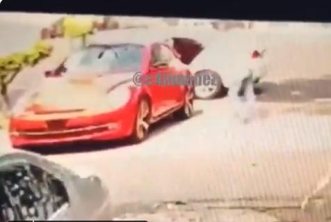 """Video: Así mata """"El Irving"""" cabecilla de """"La Unión Tepito"""" a uno de sus rivales"""