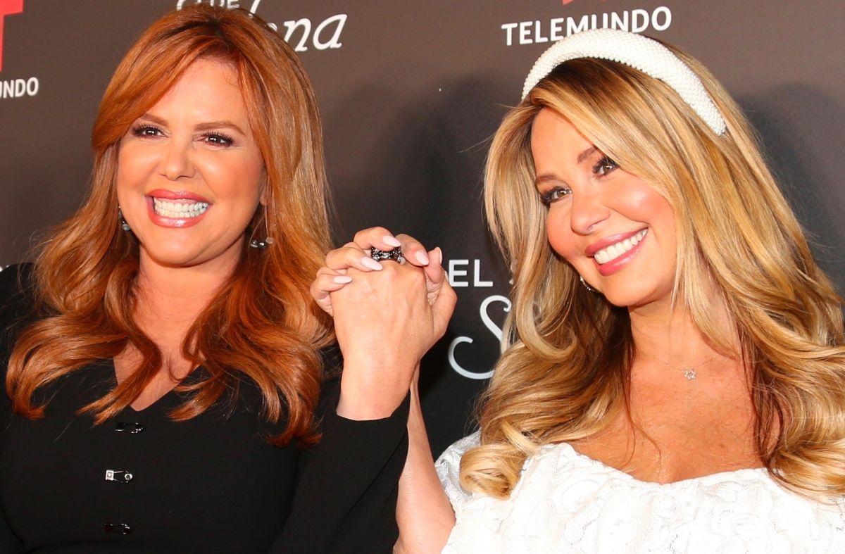 María Celeste Arrarás y Myrka Dellanos.