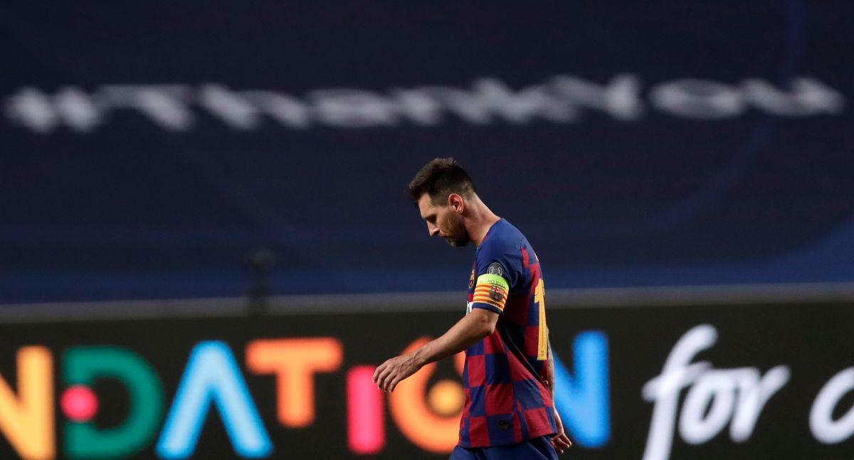 Otra noche negra para Lionel Messi.