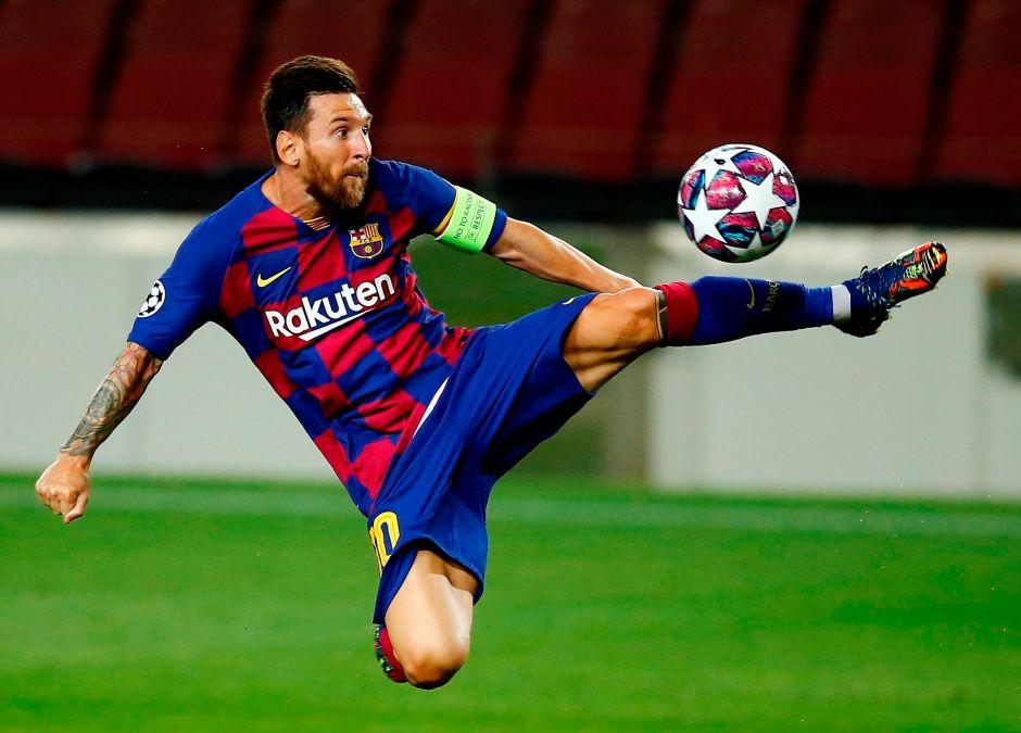"""""""No seamos pelotudos"""": Las duras palabras de Messi al medio tiempo para evitar otra debacle en Champions League"""
