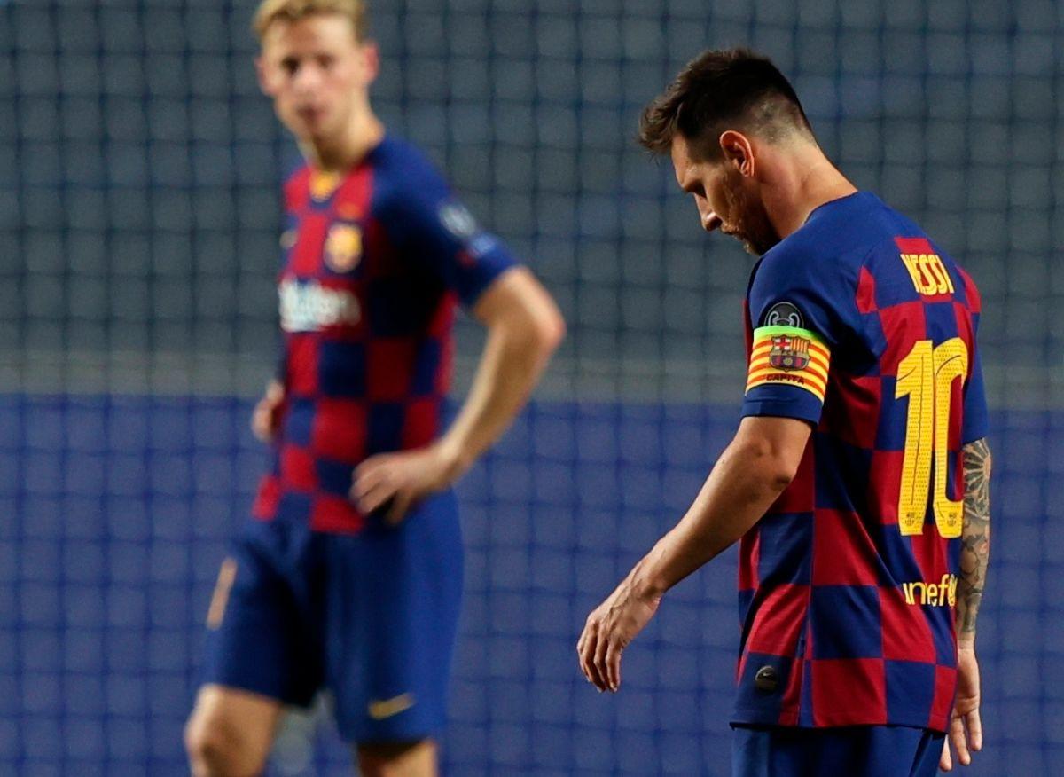 Un año más de decepción europea para Leo Messi.