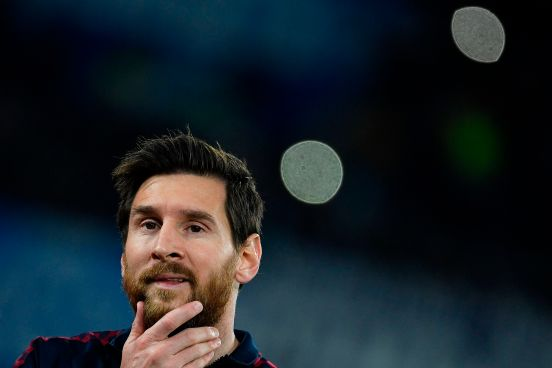 Leo Messi tiene pie y medio en el Manchester City.