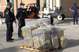 Estados Unidos incauta 13 toneladas de droga en el Caribe y el Pacífico