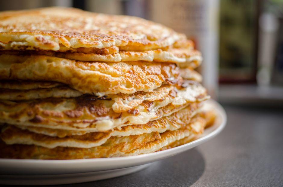 Pancakes energéticos y nutritivos con solo 3 ingredientes (sin harina ni leche)