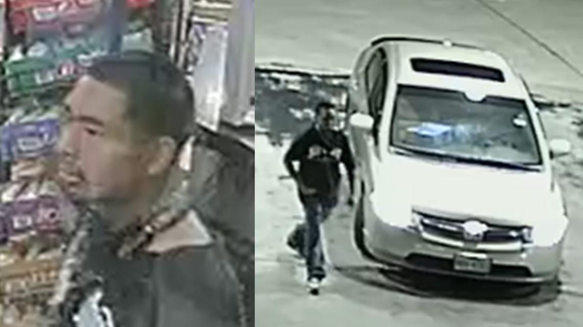 Fotos del sospechoso.
