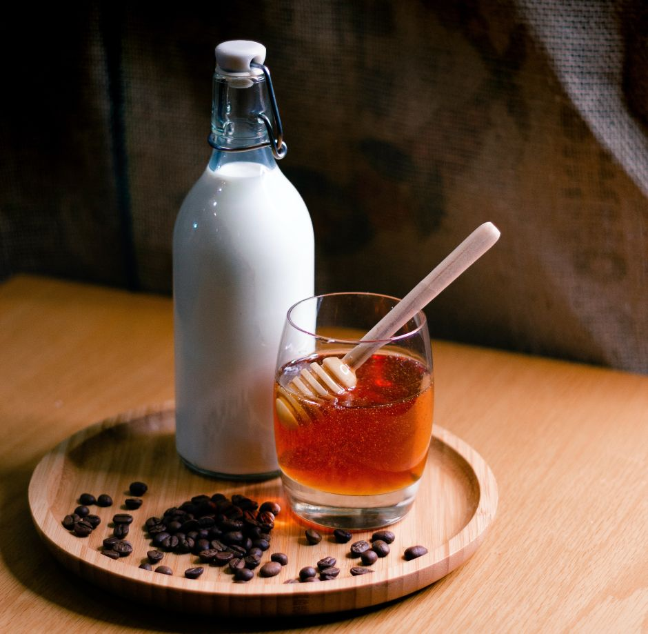 What a daily glass of milk and honey can do for your health