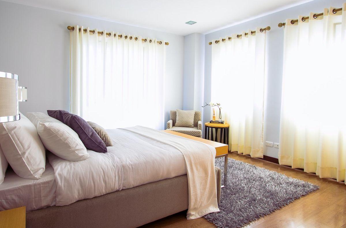 El Feng Shui recomienda colores suaves en las habitaciones.